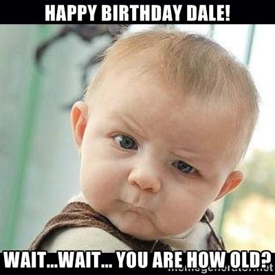 Happy Birthday @daleron !!!!!